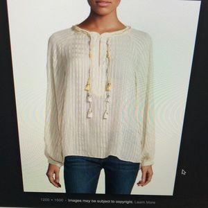 NWT Calypso St. Barth Yavisa Silk blouse. M